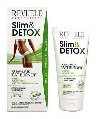 Revuele Slim & Detox Cream-Mask Fat Burner Weight Loss Anti-Cellulite