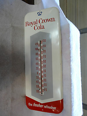 NICE OLD ROYAL CROWN COLA SODA THERMOMETER 1950s