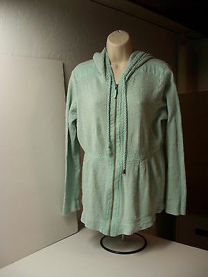 Old Navy  Maternity LS Top Shirt, Lightweight Hooded Sweatshirt, Large L  EUC!