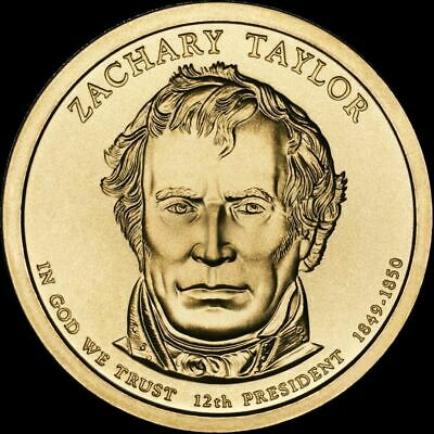 "2009-P Zachary Taylor Presidential Dollar ""Brilliant Uncirculated"" US Mint Coin"