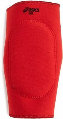 ASICS Unisex Gel Wrestling Knee Pad, Red/Royal, Size Small