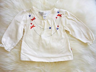Bebe By Minihaha Baby Girls Top Size 000 (3 Months)