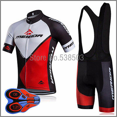 NEW Men's Sports Cycling Tops Short Sleeve Jersey Bib Short Tights Outfits
