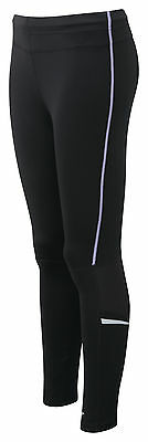 Fierce and Fire Women's performance running pants - Black/Lilac