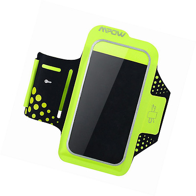 Mpow iPhone 6 Sports Armband Sweatproof iPhone 7 6 6S Armband for Running with R