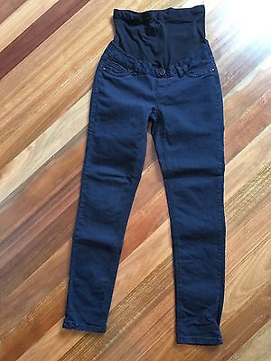 Crossroads Women Maternity Jeans Pant Black Size 8 Skinny Dark Blue