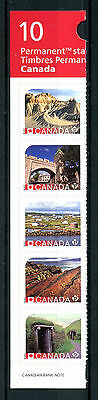 Canada 2017 MNH UNESCO World Heritage 5v S/A Set Ex-Booklet Architecture Stamps