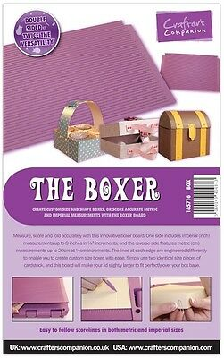 Crafters Companion THE BOXER - Box Creator / Maker Board - Scoreboard FREE UK PP