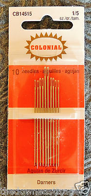 Colonial Needle JJ199-28 Tapestry Petites Hand Needles-Size 28 5//Pkg