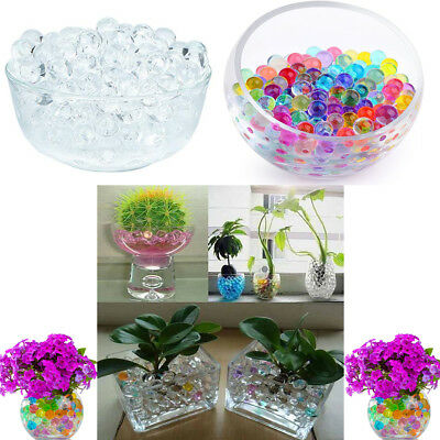 50 x Jumbo Giant Water Aqua Bio Gel Orbeez Beads Wedding Decoration Vase Filler