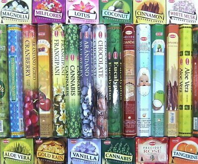 HEM Incense Sticks - Many Scents Available (Offer 4 for 3)