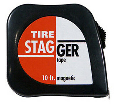 Race Car 10' Tire Stagger Tape Measure  #1165