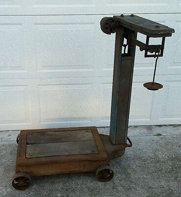 Antique Fairbanks Platform Industrial Factory Farm Scale USA Shipping Available