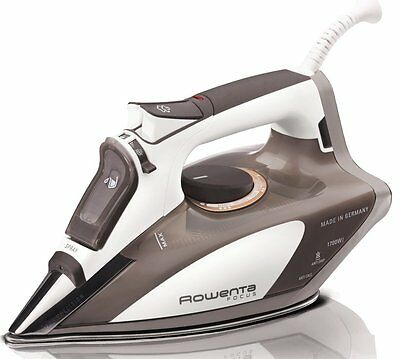 Rowenta DW5080 Focus 1700-Watt Micro Steam Iron Stainless Steel Soleplate with