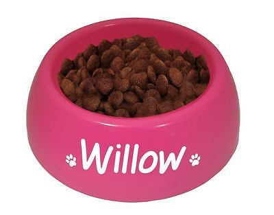 Personalised Dog Cat Puppy Kitten Rabbit Food Water Bowl - Single Feeding Dish P