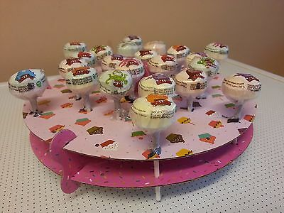 Cake Pop Stand Holds 32 Lollipops. Wedding, Party Display.