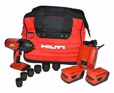 """HILTI SIW 18T-A  18V 1/2"""" IMPACT WRENCH CORDLESS Kit BRAND NEW"""