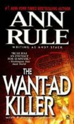 NEW The Want-Ad Killer By Rule Ann Paperback Free Shipping