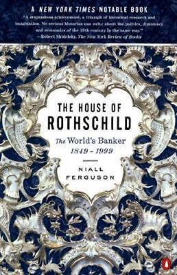 NEW The House of Rothschild By Niall Ferguson Paperback Free Shipping