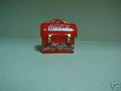 Coca Cola Lunch Box Salt & Pepper Shaker Set - New