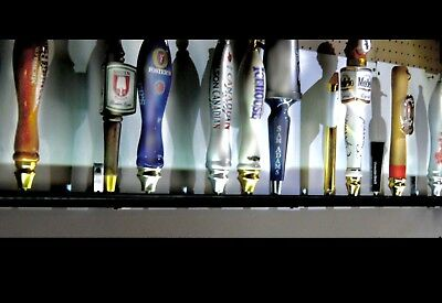 7 BEER TAP HANDLE DISPLAY WALL MOUNTED  AMERICAN EAGLE DESIGN 4 levels kegerator