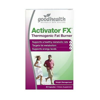 New Good Health  Weight Management Supplements  Activator FX Size: 60 capsules