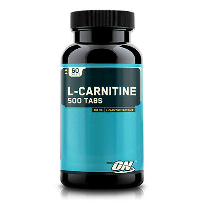 New Optimum Nutrition Weight Management Supplements  L-Carnitine 500mg