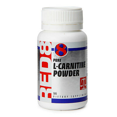 New Red 8 Weight Management Supplements  L-Carnitine Powder  Size: 50g
