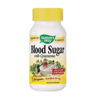 New Nature's Way Weight Management Supplements  Blood Sugar Size: 90 Capsules
