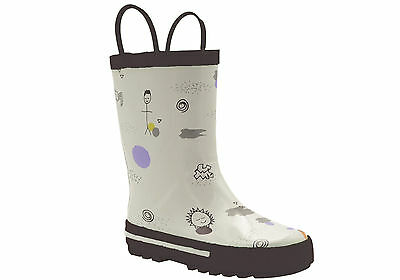 New Grosby Journey Junior Kids Rubber Rain Boots