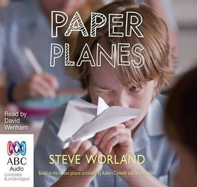 NEW Paper Planes By Steve Worland Audio CD Free Shipping