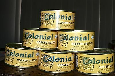 CORNED MUTTON 340g tins x 6