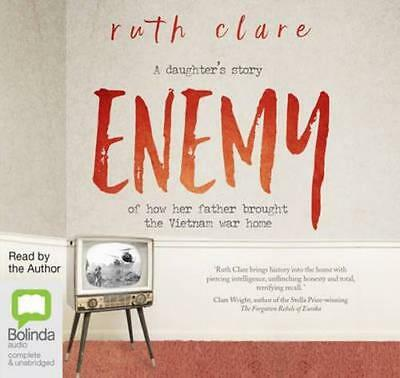 NEW Enemy By Ruth Clare Audio CD Free Shipping
