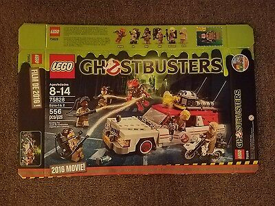 Lego Ghostbusters Ecto-1 & 2 75828 Box Only