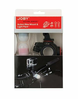 New JOBY Bike Mount & Light Pack for GoPro or Other Action Video Camera