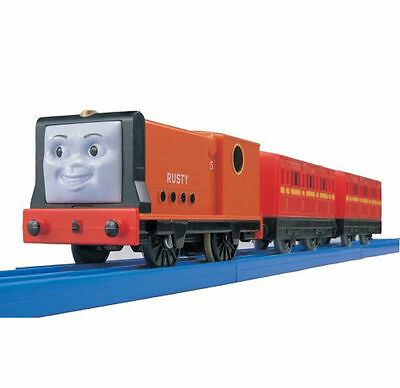 New Tomy Trackmaster Thomas and Friends T26 MOTORIZED Train RUSTY With 2 Truck