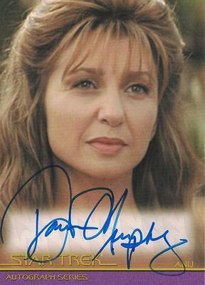 Star Trek Movies Heroes & Villains A107 Donna Murphy (Anij) autograph