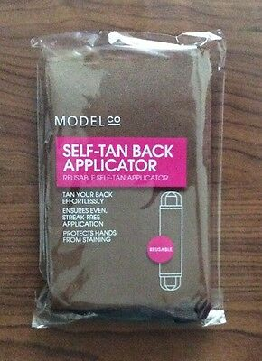 1 x Model Co Self Tan Back Applicator Reusable Self Tan Applicator  NEW