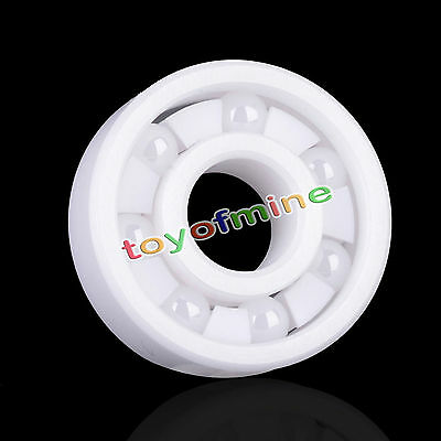 608 Full Ceramic ZrO2 Ball Bearing For Skateboard Skate 7x20x7mm Zirconia Oxide