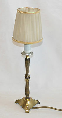 Jugendstil Lampe Messing Tischlampe Tischleuchte / Table lamp