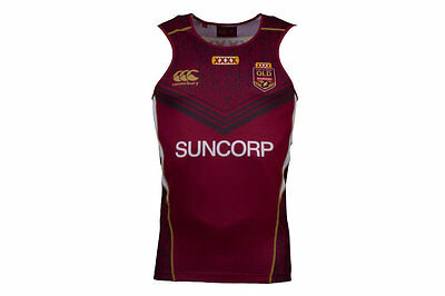 Canterbury Queensland State Of Origin NRL 2017 Rugby Training Singlet