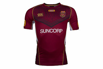 Canterbury Queensland State Of Origin 2017 NRL Rugby Training T-Shirt