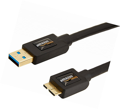 A-Male to Micro-B USB 3.0 Cable 0.9 Meters 3 Feet