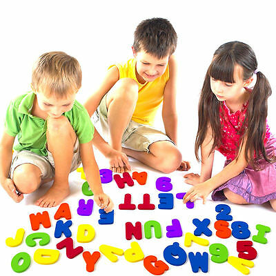 26x Children Baby Kids ABC 123 Foam Letters numbers Bath Tub Swimming Play Toys