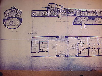The Nautilus Concept Drawing for 20,000 Leagues Movie