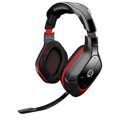 Gioteck Hc-5 Wireless Gaming Headset Ps4 Ps3 Xbox One Xbox 360