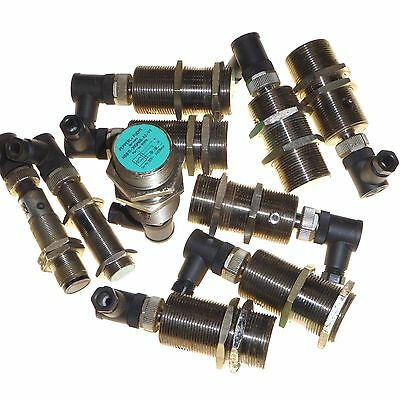 10 x Proximity inductive sensor switch 18 - 30mm 10 - 30V Pepperl+Fuchs NBB15
