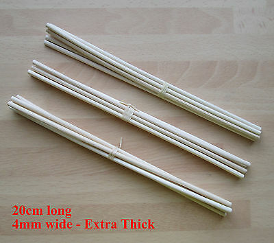 18 EXTRA THICK  Rattan Reed Oil Diffuser Replacement Refill Sticks Reeds