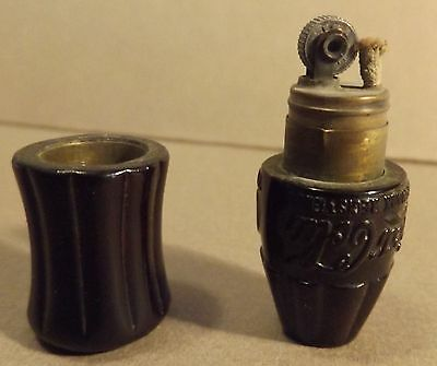 Miniature COCA COLA Bottle Cigarette Lighter  missing top