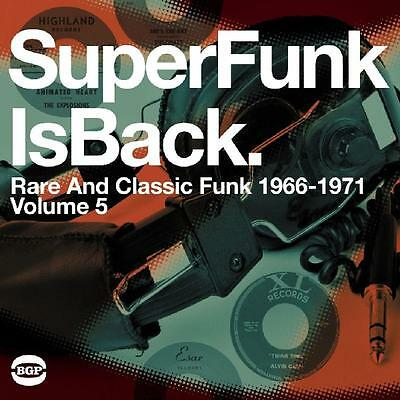 Ace - SuperFunk, Vol. 5: SuperFunk Is Back -- Rare and Classic Funk 1968-1977